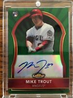 Hot Pack With Chance At Topps Finest Mike Trout Rookie Auto!!!! HOT!!!