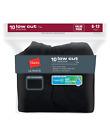 New Hanes Mens Ultimate Black Cushion Low Cut Socks 10-Pack