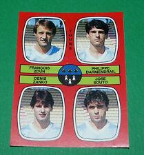 N°379 ZDUN DARMENDRAIL ZANKO SOUTO TOURS D2 PANINI FOOTBALL 87 1986-1987