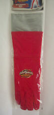 Power Rangers Operation Overdrive 1 Pair of Red Gloves Costume COSPLAY NEW