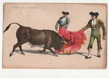 Suerte A La Alimon Spain Vintage Postcard 194a