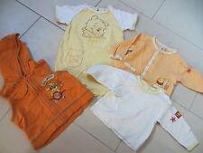Set so süß: Winnie Pooh 62 und 80 gelb orange top!