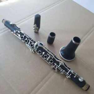 New Clarinet Bakelite Nickel Plating Bb Ebonite 19 KEYS