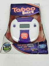 NEW Taboo Buzz'd Fast Pass Guessing Game Great for Travel