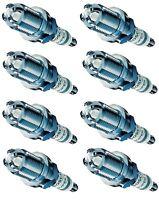 Spark Plugs x 8 Bosch Super 4 Fits Land Rover Discovery 1 LJ Range Defender V8