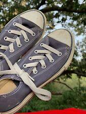 CONVERSE All Star Blue Jeans Blue Denim Canvas Athletic Boys Girls Sz 1 ❤️sj17j7