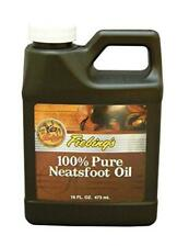 Fiebing's 100% Pure Neatsfoot Oil - Natural Leather Preserver - For Boots,