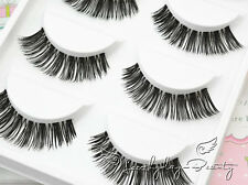 5 Pairs Long Thick Handmade Makeup Fake False Eyelashes Eye Lashes#25