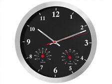 Murale Horloge  avec thermomètre et hygromètre 35,56 x 4,00 cm 1x pile AA