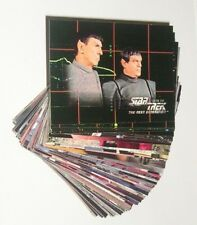 Base Set Of Star Trek The Next Generation Season 5 Trading Cards 1996 Skybox