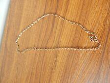 """9ct Collar Cadena de oro 24"""" 12.3 gramos"""