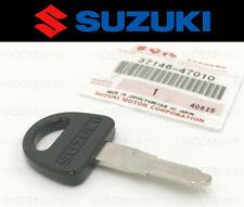 Genuine Vintage Suzuki Key Blank Suzuki GS/GN/GP/GR/GSX models (1970s & 1980s)