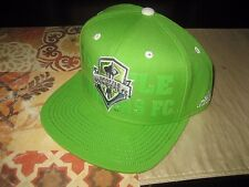 ADIDAS SEATTLE SOUNDERS FC SNAPBACK HAT Cap Hat MLS GREEN XBOX NWT