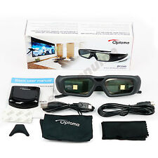 Optoma Projector Active Shutter 3D Glasses ZF2300 and BC300 RF Emitter system
