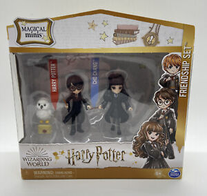 HARRY POTTER MAGICAL MINIS CHO-CHANG HEDWIG FRIENDSHIP SET