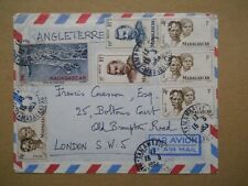 Madagascar, Air Mail Cover, Postmarked, Tananarive, 15 May 1953