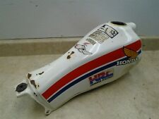 Honda 200 Tlr Reflex TLR200 Cabossé Gaz Réservoir Carburant 1986 HB428