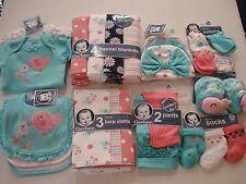 Gerber Baby Girls 26 Piece Gift Set Size 0-3 Months NEW Adorable Birds