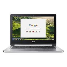 """Acer Chromebook R13 13.3"""" (64GB eMMC, MediaTek M8173C, 2.10 GHz, 4GB DDR3) Laptop - Silver"""