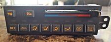 Brand New 92-93 NOS Corvette Climate Control - Manual - Black & Orange - Coupe