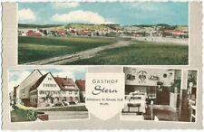 Bühlertann bei Schwäbisch Hall, Gesamtansicht, Gasthof Stern, alte Ak