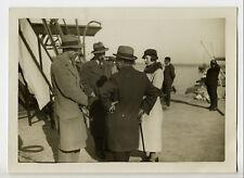 Princesse G. & Prince L. Bourbon-Parme & Comte Lucchesi-Palli - Photo 1935 Alger