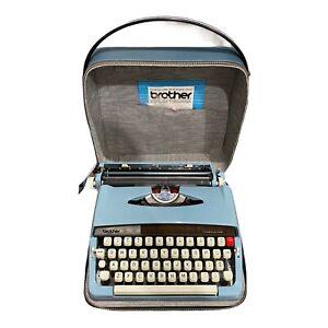 Brother Opus Model 888 Vintage Manual Typewriter w/ Case *FAST SHIP*