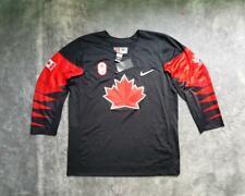 Men's Nike Canada Team IIHF Olympic Replica Hockey Jersey Black