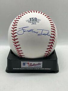 Jonathan India Signed Auto Rawlings 150th Anniversary #2 Baseball JSA W COA HOLO
