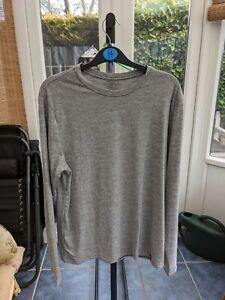 Patagonia Cap Cool Daily Shirt LS Long Sleeve - Men's Medium M - Grey