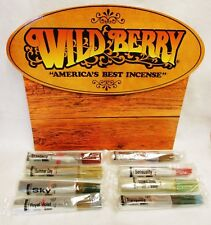 """Desert Sage WildBerry Incense 100 Count Pack 11"""" Stick + Burner Free Shipping"""