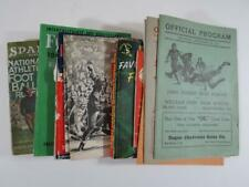 (11) 1927-1950  Football Publications Programs Schedules Guides