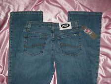NWT Women's $59 NEW YORK Jets NFL Stretch cheerleader boot JEANS 4L 26/28 x 33