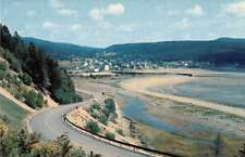 Moncton New Brunswick Canada Highway and Fundy National Park Postcard J77266