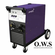 Parweld XTM254i 250A SYNERGIC MIG INVERTER w/ torch, reg, and leads THREE-PHASE