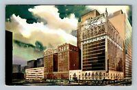 Dallas TX, Hotel Adolphus, Chrome Texas Postcard