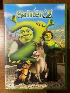 Shrek 2 DVD 2004 Dreamworks Dessin Animé Fonctionnalité Film