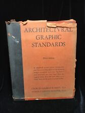 1946 Architectural Graphic Standards Third Edition 1st Printing Dust Jacket SFC