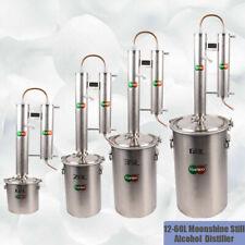 12L Moonshine Still Essential Oil Alcohol Gas Water Vodka Copper Distiller