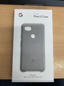 Google Pixel 2 XL Case Fabric Grey Official /Original Case