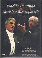 Placido Domingo & Mstislav Rostropovich : A Night to Remember  DVD