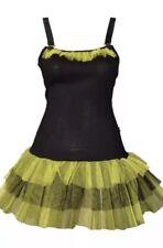 Ladies Tutu Dress Fancy Dance Hen Night Gothic Emo Punk Size S(8-10) BRAND NEW
