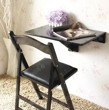 SoBuy® Folding Wall-mounted Drop-leaf Table Desk, 60x40cm, Black, FWT03-SCH, UK