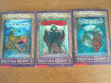 3 X DELTORA QUEST 3 BOOKS SHADOWGATE, ISLE OF THE DEAD, SISTER OF THE SOUTH