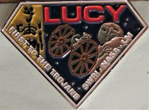 ATLAS V LUCY NASA SPACE FORCE MISSION COIN - I LOVE LUCY SLANT