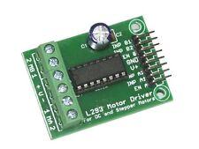 DC Motor / Stepper Motor Driver H Bridge Controller L293 PWM Arduino AVR 8051