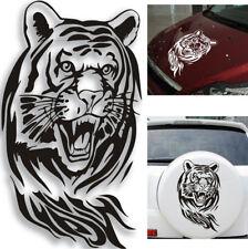 SUV Auto Motorhaube Abdeckung Schwarz Tiger Kopf Dekor Aufkleber Wasserdicht DIY