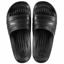 Adidas Mens Womens Unisex Duramo Sliders BLACK SIZE FROM 6-12 Limited Edition