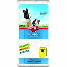 Kaytee Clean and Cozy Super Absorbent Paper Bedding, 24.6 Litres, White