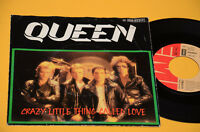 "7"" 45 (NO LP ) QUEEN CRAZY LITTLE THING...1°ST ORIG GERMANY 1979 EX"